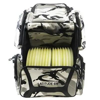Latitude 64 Golf Discs DG Luxury E3 Backpack Disc Golf Bag