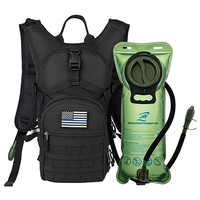 SHARKMOUTH Tactical MOLLE Hydration Backpack
