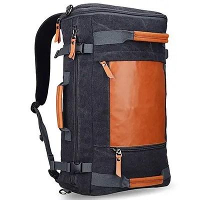 Старинный холщовый рюкзак Witzman для мужчин