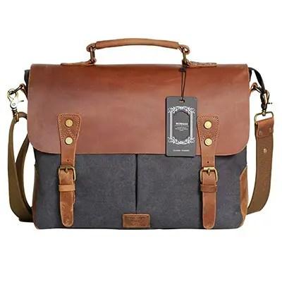 Wowbox Messenger Satchel Bag for Men and Women