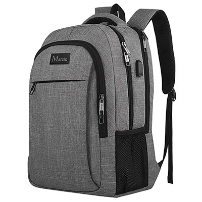66373d3d74cf Best For Commuters. Matein Charging Backpack