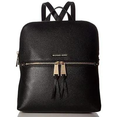Michael Kors Rhea Medium Slim Leather Backpack
