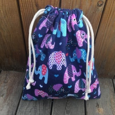 How To Make A Lined Drawstring Backpack