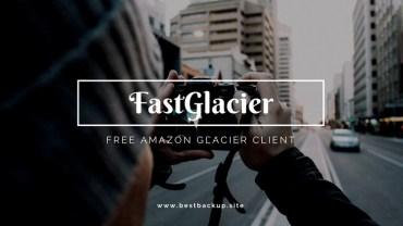 FastGlacier 3.5.9 – Amazon Glacier Client for Windows