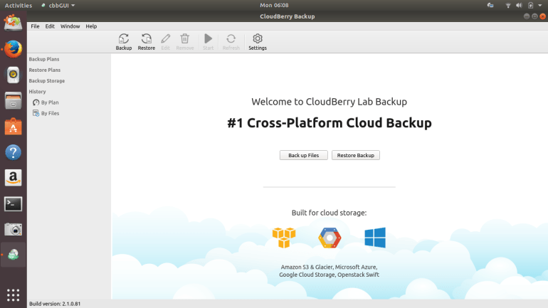 cloudberry backup for linux