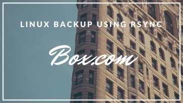 How to Backup Linux to Box.com Using Rsync