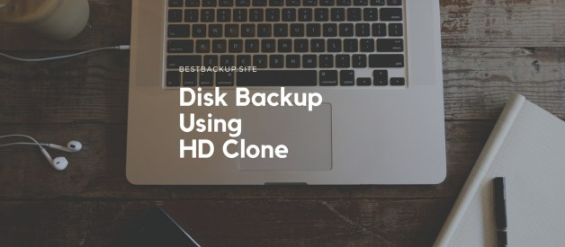 How to Backup Entire Disk or Partitions using HDClone