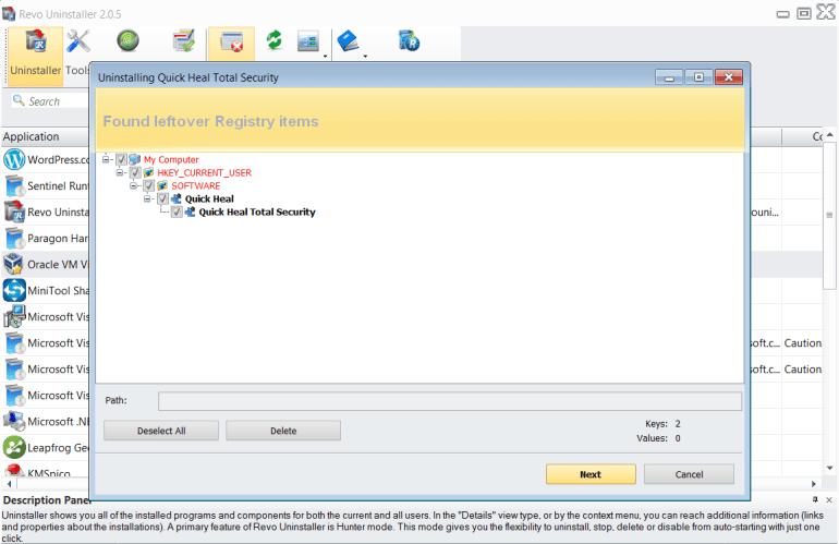 revo uninstaller registry clean.png