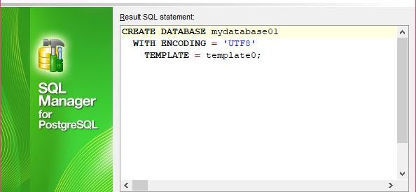 Connect and Create New Database Using EMS SQL Manager for PostgreSQL