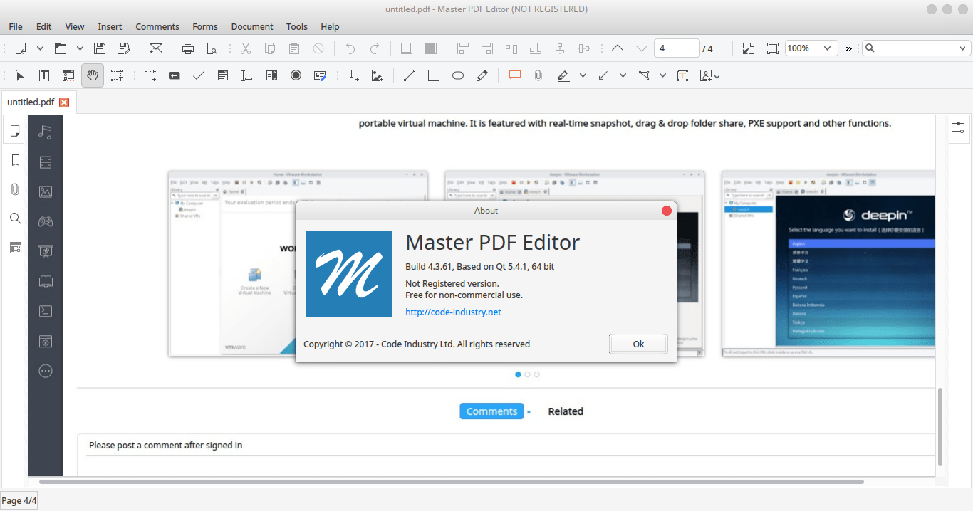 Master PDF Editor for Linux 5.0 - The Best PDF Editor for Linux
