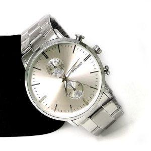 Diniho Y711G Steel Belt Wrist Watch for Men