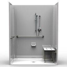 Multi Piece ADA Compliant Shower
