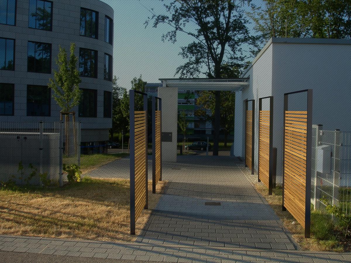 Bauhaus Zaun Holz Wpc Terrassendielen Muster Dunkelgrau 20 Mm Gratis