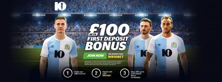 free bets of £100 at 10bet