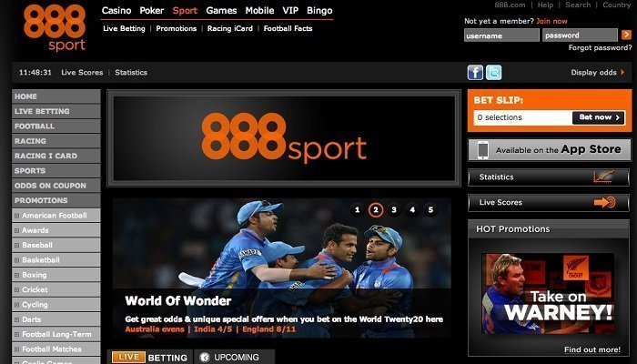 888Sports Review