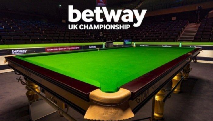 Betway UK Championship Round 1 Betting 1