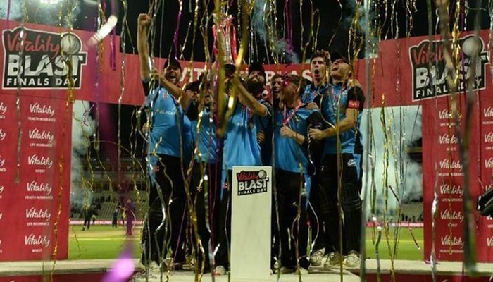 Last Chance for Betting on the Vitality T20 Blast 1