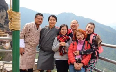 Á hậu Hoàng Oanh kể chuyện trải nghiệm hạnh phúc tại Bhutan.