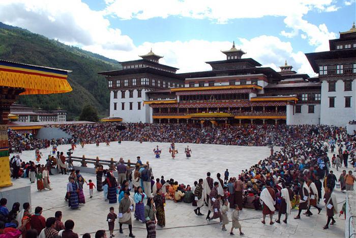 lễ hội văn hóa bhutan