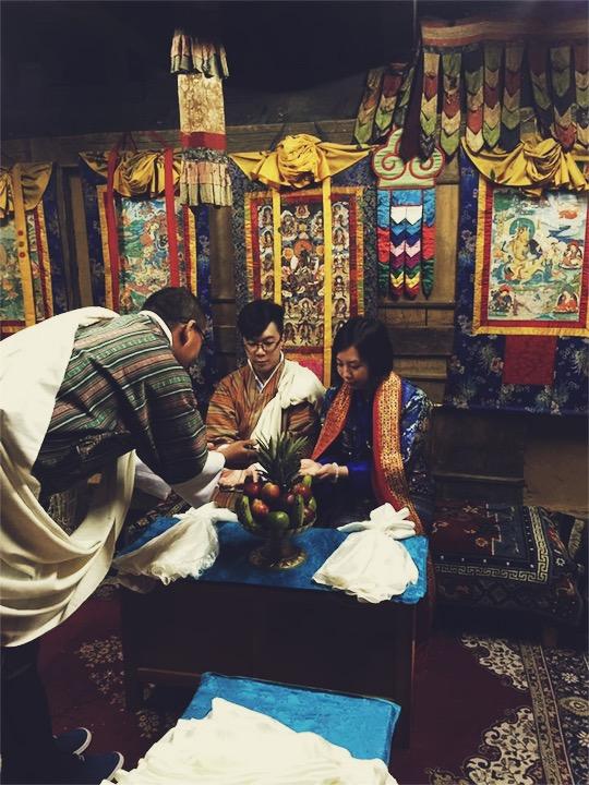 đám cưới truyền thống bhutan