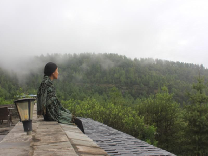 Phong cảnh yên bình và không khí trong lành. Một sự kết hợp chỉ có tại Bhutan.