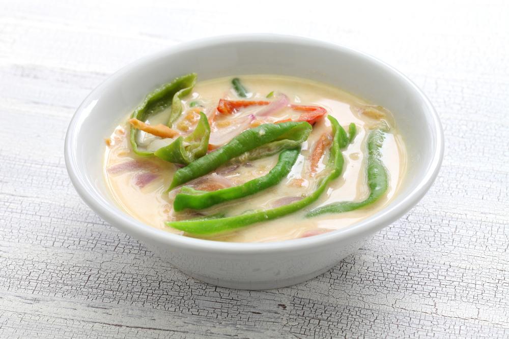 Ema Datshi - món ăn đặc trưng của Bhutan từ ớt và phô mai là một món ăn chay thú vị