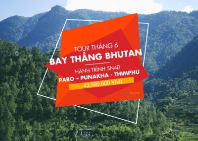 Khám phá văn hoá Bhutan 5N4Đ Paro – Punakha – Thimphu. Trải nghiệm đặc biệt bay thẳng từ Tp. HCM, Việt Nam (15/06/2018 – 19/06/2018)