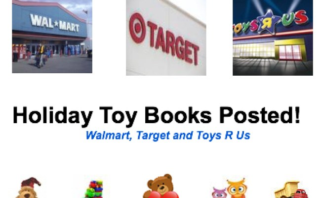 Walmart Target And Toys R Us Toy Books For 2013 Posted