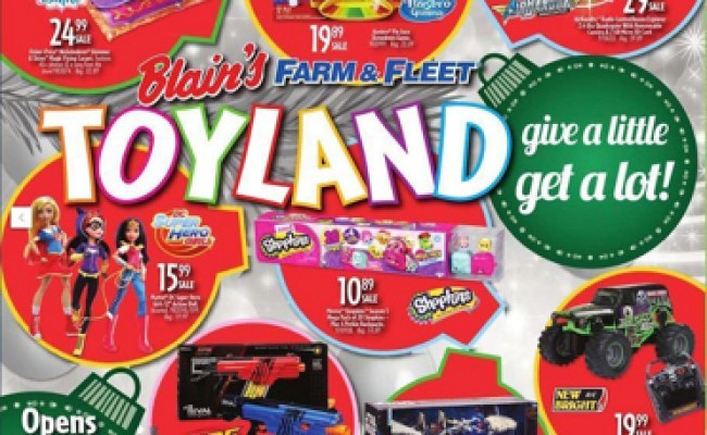 Holiday Toy Books 2016 Released For Blain S Farm Fleet