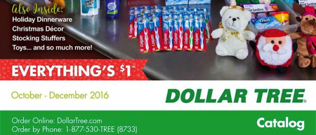 Holiday Catalogs Released For Dollar Tree Dollar General
