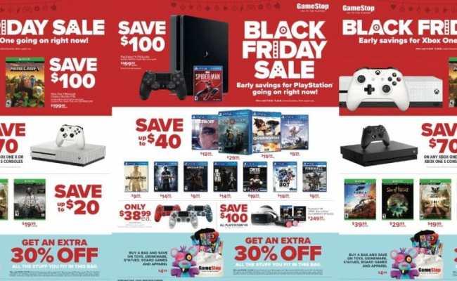 Gamestop Black Friday 2019 Deals Grab Deals On Gaming