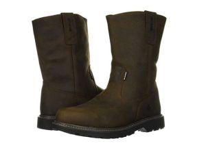 Wolverine Men's Floorhand Waterproof Steel Toe Work Boots