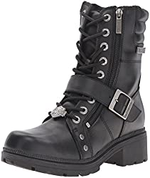 Womens motorcycle boots that add height