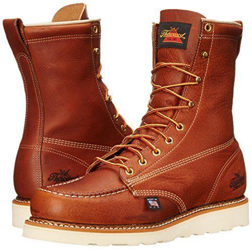 Thorogood Men's American Heritage Moc Toe, MAXwear Wedge Boots