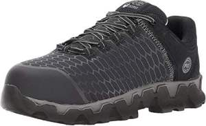 Timberland PRO Mens Powertrain Sport Alloy Safety Toe Athletic Work Shoe