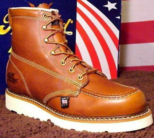 List of Work Boots Made in the USA