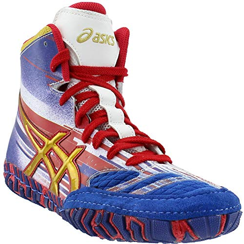 cc7eddbfbefa ASICS Aggressor 2 L.E. Lightning Strike Wrestling Shoes