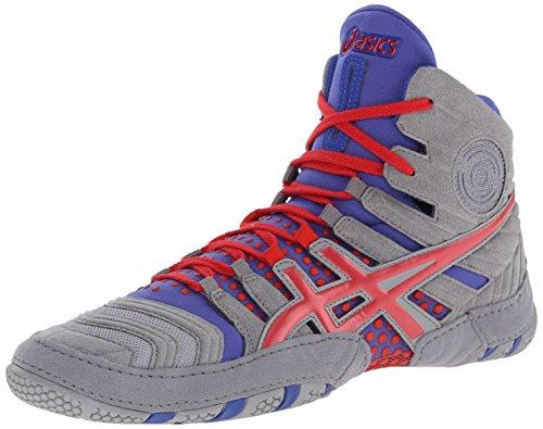 pretty nice ad2b6 60a66 ASICS Men s Dan Gable Evo Wrestling-Shoes, Black White Carbon, 11 Medium US