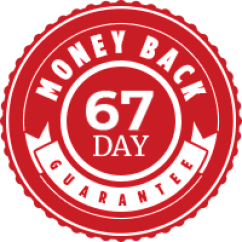 67 days money back guarantee