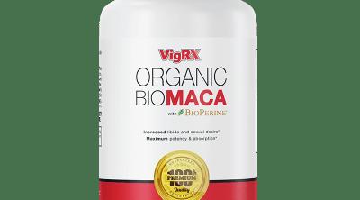 VigRX Organic Bio Maca Review