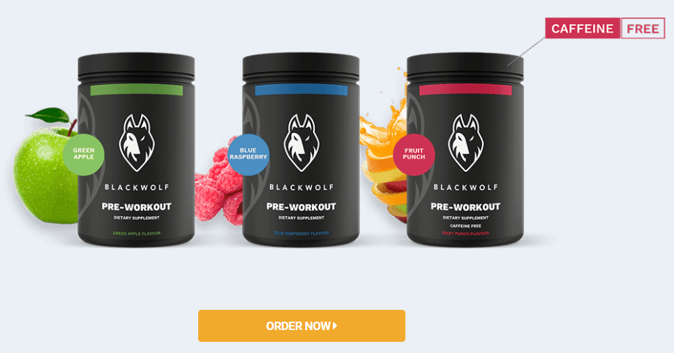 BlackWolf Pre-Workout Order Image