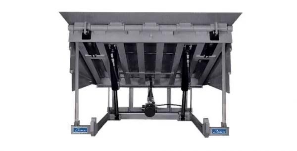 HD series heavy capacity hydraulic dock leveler