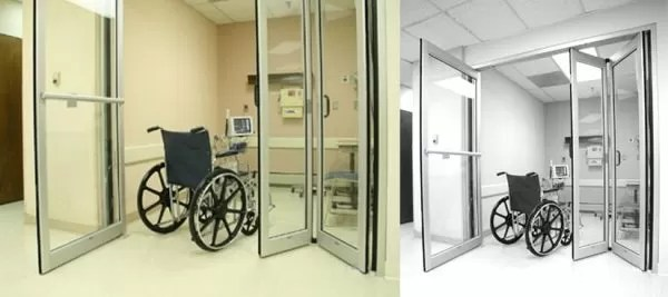 DURA-CARE 7600: HYBRID SWING/FOLD DOOR SYSTEM