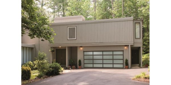 "Venice 2"" aluminum garage doors"