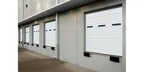 Commercial ribbed doors - open-back & insulated