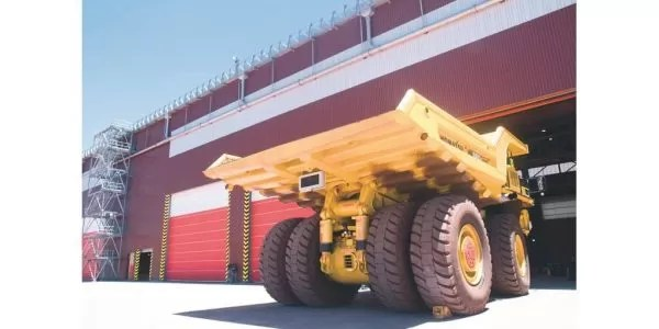 Mine door systems