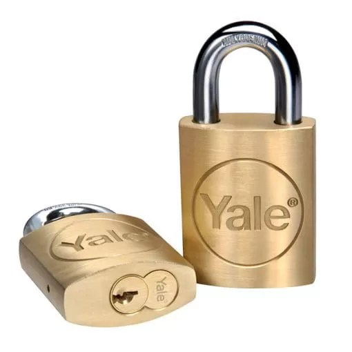 PD525 padlock end and front view