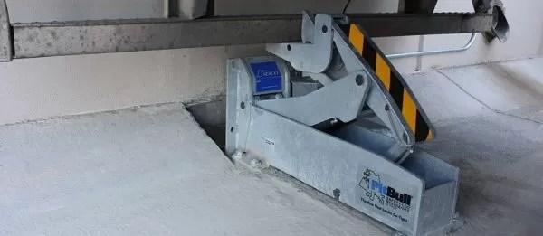 SL40 series mechanical vehicle restraint