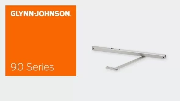 90 Series Surface Overhead Door Holders & Stops