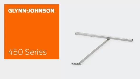 450 Series Surface Overhead Door Holders & Stops